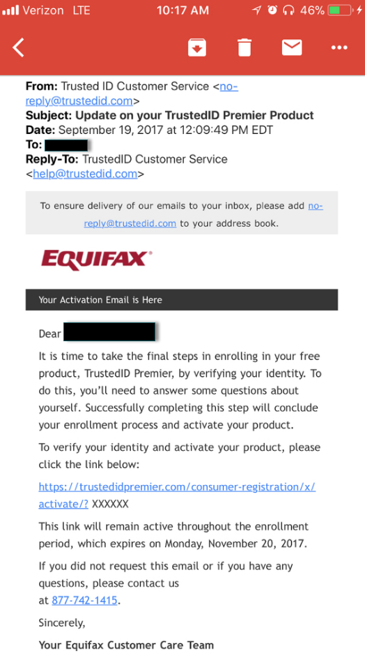 Equifax Or Equiphish Krebs On Security New Technology