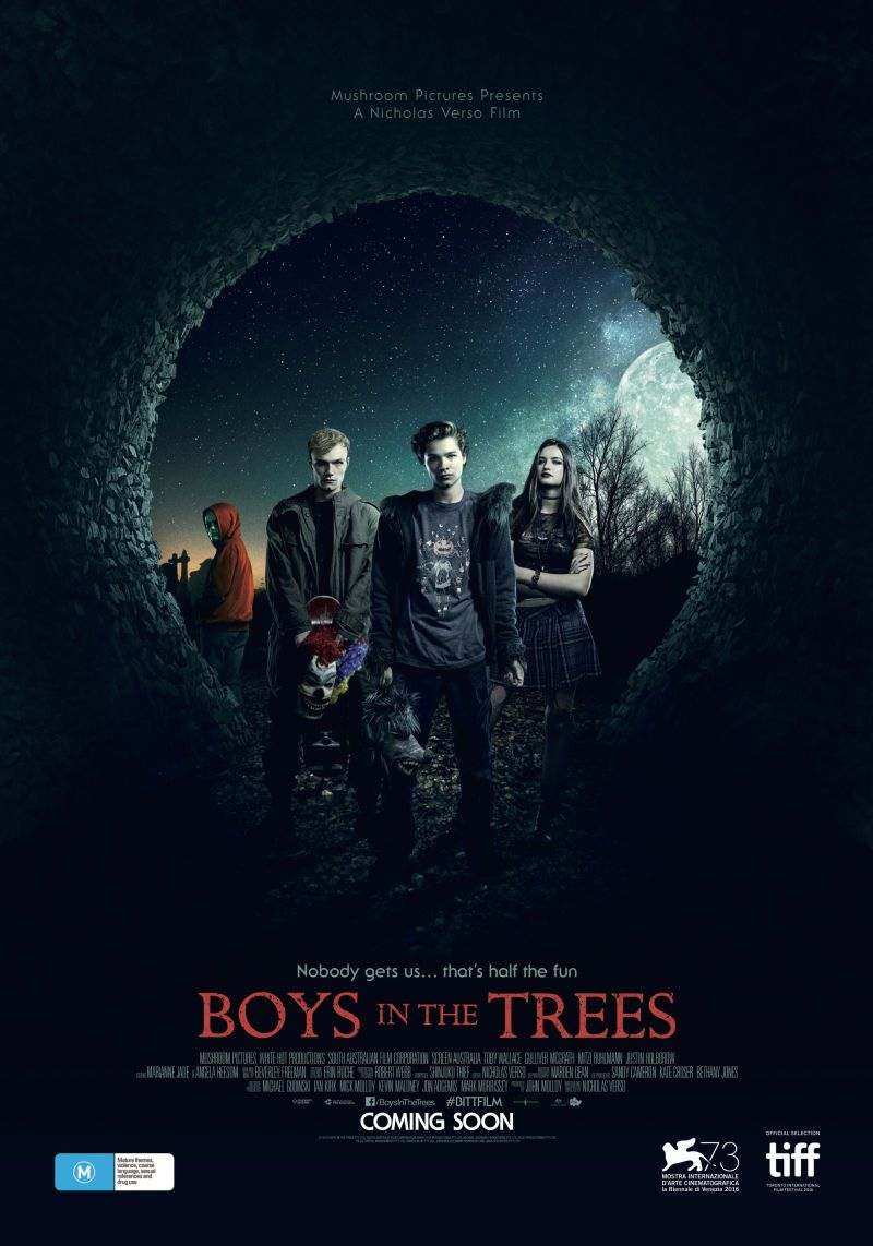 Boys in the Trees Poster Film di halloween, Film indie