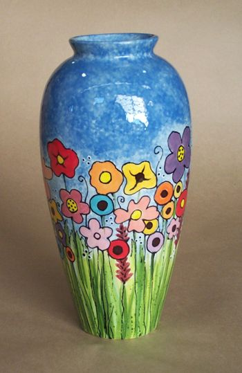 10 Vase Pottery Painting Colorful Pottery Pottery Designs
