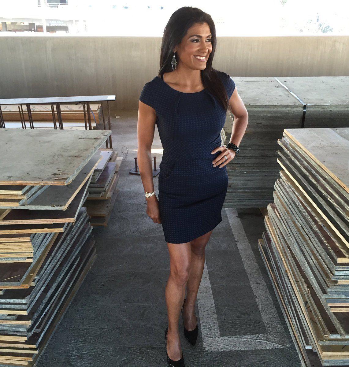 Vera Jimenez On Black Dress With Pockets Shirt Dress