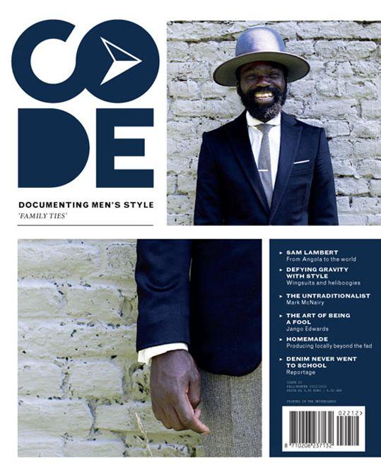 CODE #magazine #cover #mag #revista #portada #tapa #design #editorial @GraphicTools