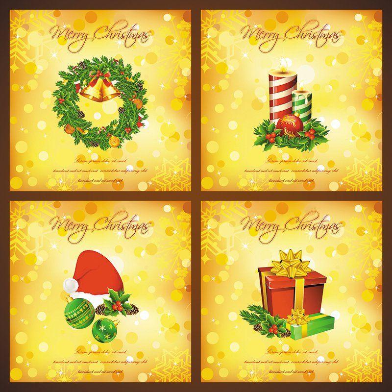 4 Free Christmas Card Holiday Christmas Pinterest Christmas