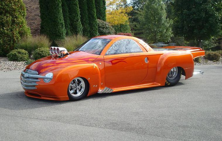 Blown Chevy Ssr Nhra Drag Racing Cars Chevy Ssr Chevrolet Ssr