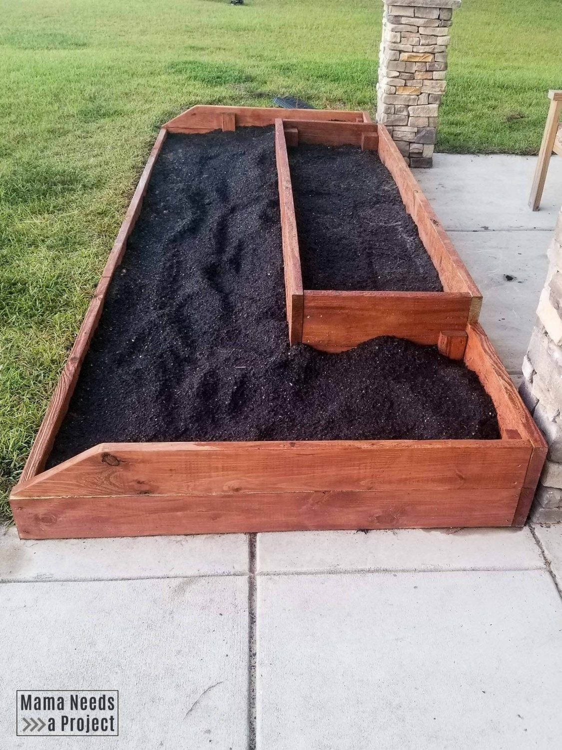 Improving Clay Soil with a Raised Flower Bed Raised