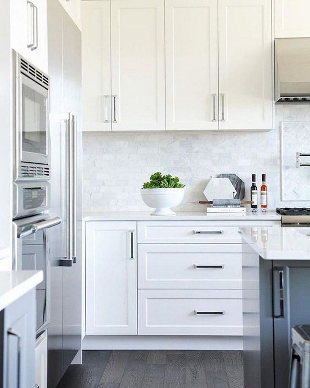Kitchen Cabinets Decorating To Organize Your Kitchen Abchomedecor Modern White Kitchen Cabinets Minimalist Kitchen Cabinets White Modern Kitchen