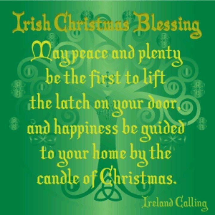 Irish Christmas Blessing.An Irish Christmas Blessing Irish Christmas Blessing