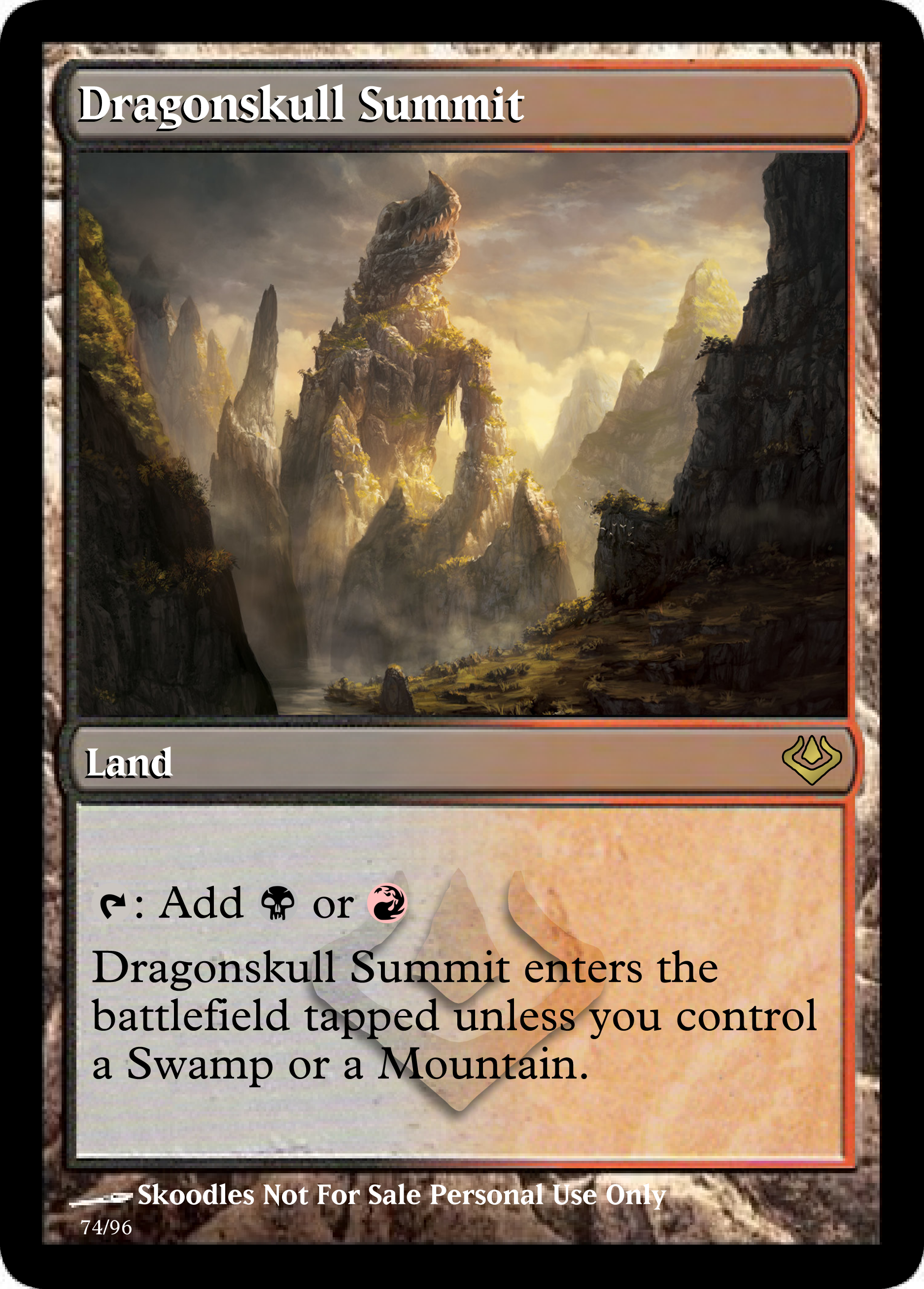 Fetch Lands my pimped out set for bolas edh. | dragonskull summit, mtg