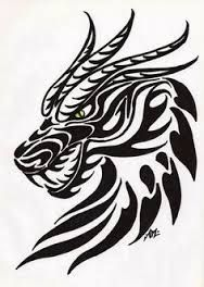 graphic regarding Dragon Stencils Printable identified as Graphic consequence for dragon stencil printable Determination