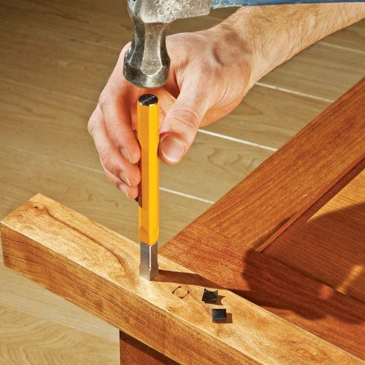 """Artisan Accents 3/8"""" Mortise Chisel Tool 