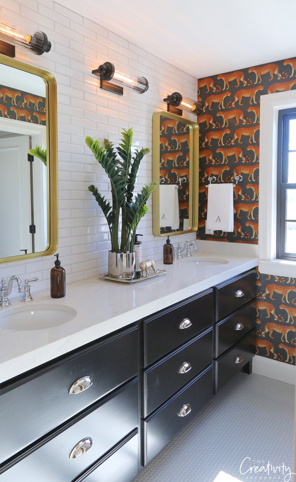 2018 Utah Valley Parade Of Homes Part 2 Painted Vanity Bathroom Painting Bathroom Cabinets Painting Bathroom