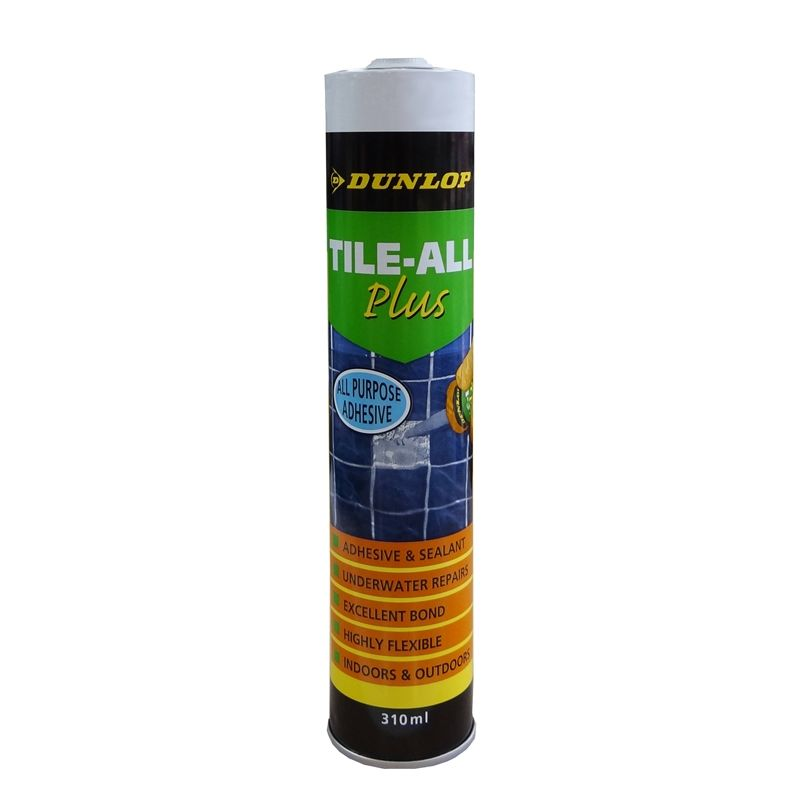 Dunlop 310ml Tile-All Plus Premixed Tile Adhesive (With ...