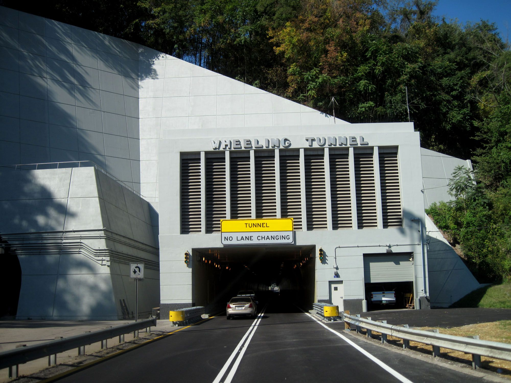 Wheeling Tunnel West Virginia Mountains West Virginia Wheeling Wv