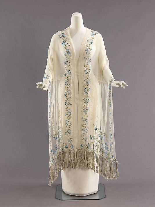 Stole, Evening  Liberty of London  (British, founded 1875)  Date: 1900–1910 Culture: British Medium: silk by imelda