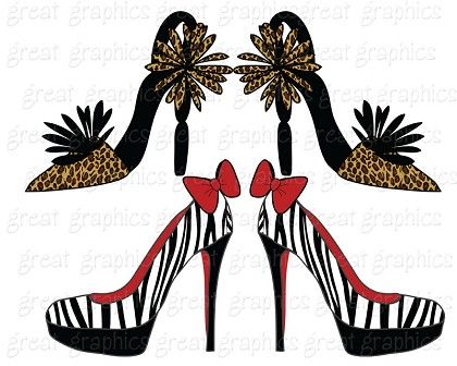 Shoe Clipart Shoe Clipart Crazy Shoes Digital Clip Art Shoe Digital