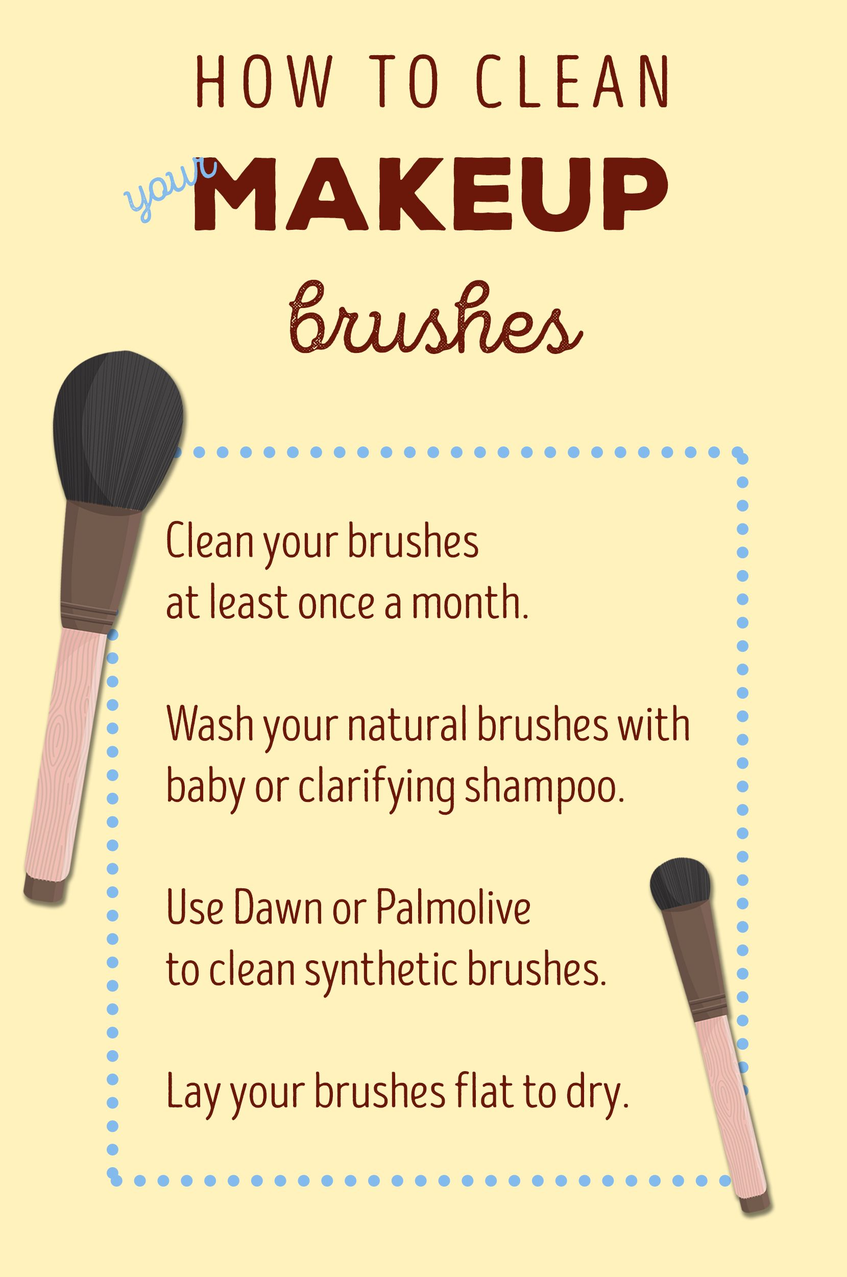makeup brushes, Makeup brush cleaner