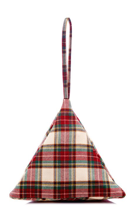 Young Tartan Pyramid Pouch by Slow and Steady Wins the Race