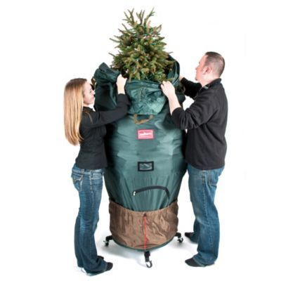 Treekeeper Patented Large Upright Rolling Tree Storage Bag