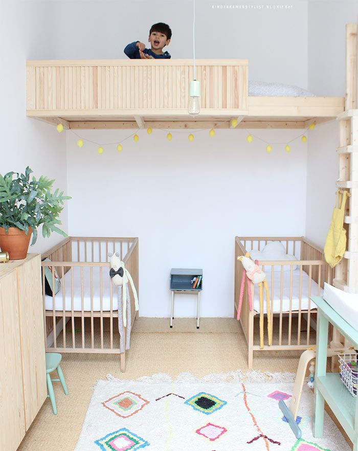 Slaapkamer delen   Kinderkamerstylist   Child Bedroom   Pinterest ...