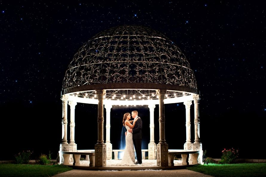 I don't know why I'm looking at wedding pictures, but... wow.