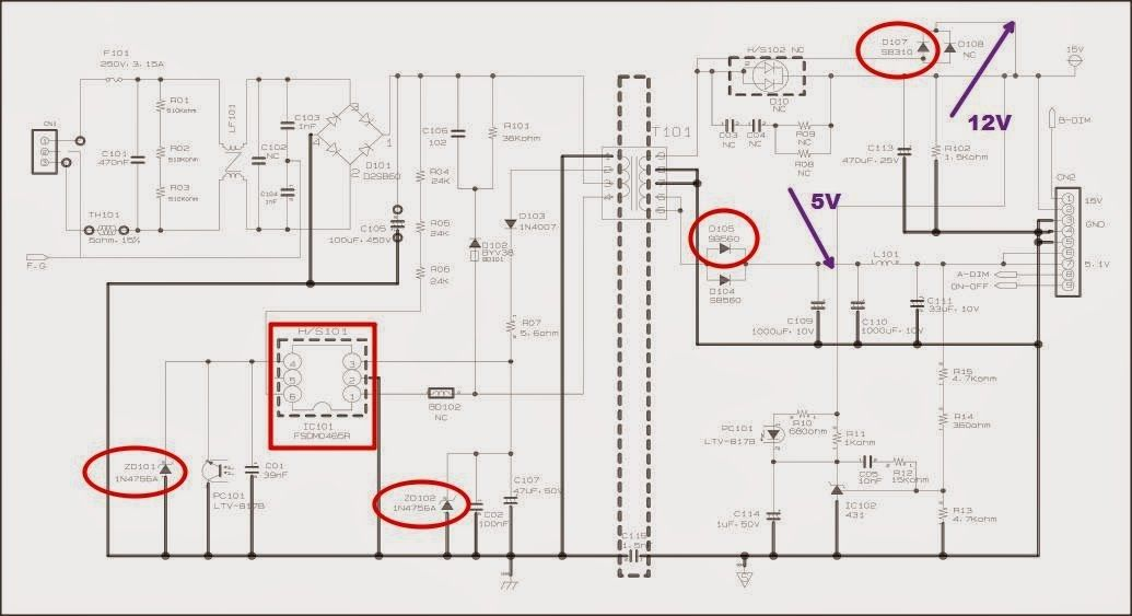 Samsung Syncmaster 732Nw Power Supply Modification « Diy