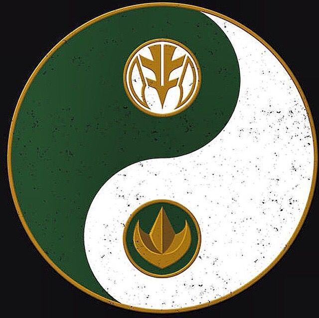 Mighty Morphin Power Rangers Wallpaper: Green & White Mighty Morphin' Rangers