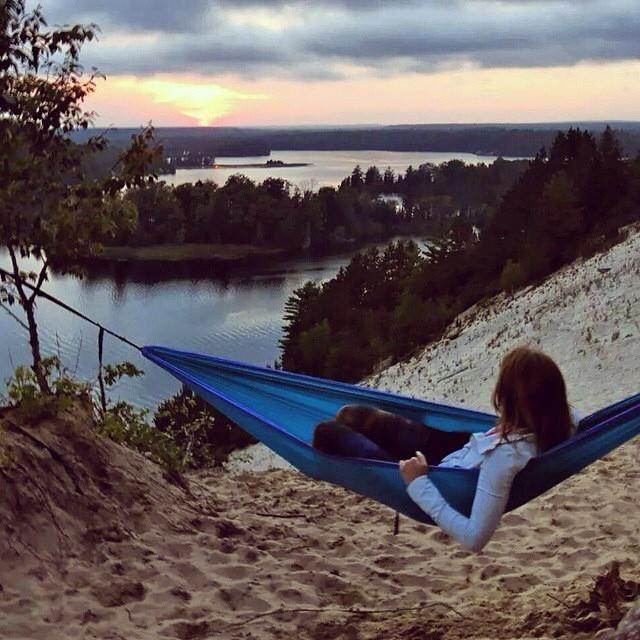Relaxing Near The Au Sable River Near Oscoda Michigan Outdoor Oscoda Outdoor Decor