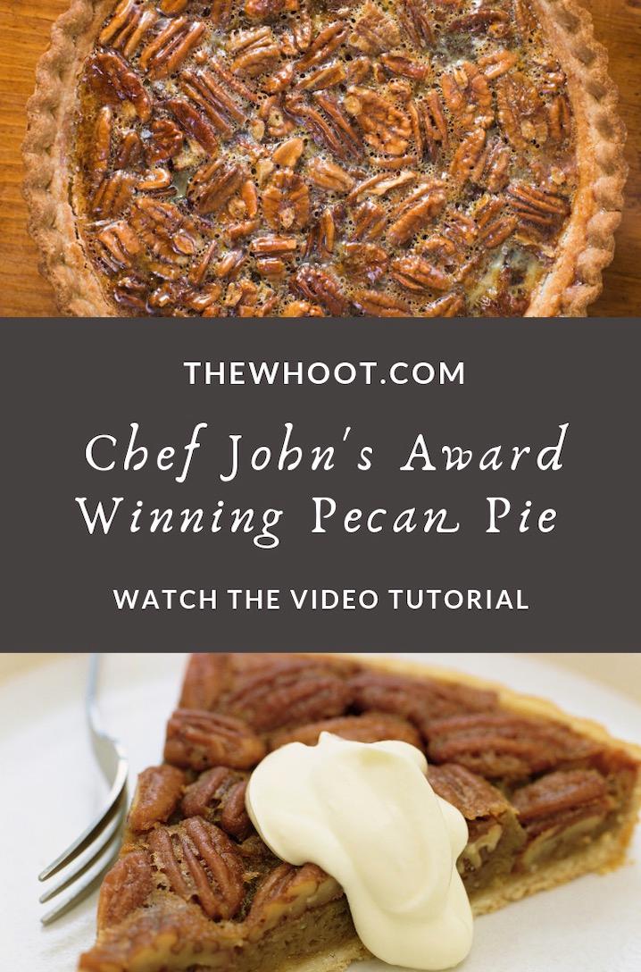 Award Winning Pecan Pie Recipe - Video | The WHOot