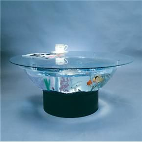 Aquarium Coffee Table I Want One For The Home Pinterest