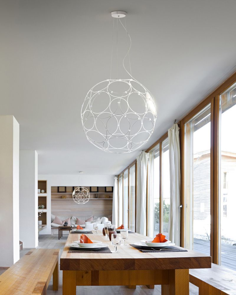 modern stairwell lighting. If You\u0027ve Got A Big Open Modern Stairwell Or Barn Conversion To Light, This Could Be The Pendant For You. It\u0027s Huge Sphere, Made Of 32 Interconnecting Lighting T