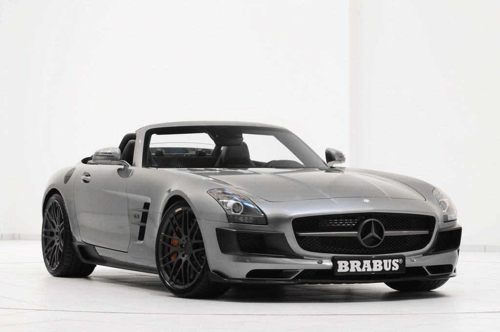 The BRABUS Mercedes SLS AMG Roadster is here