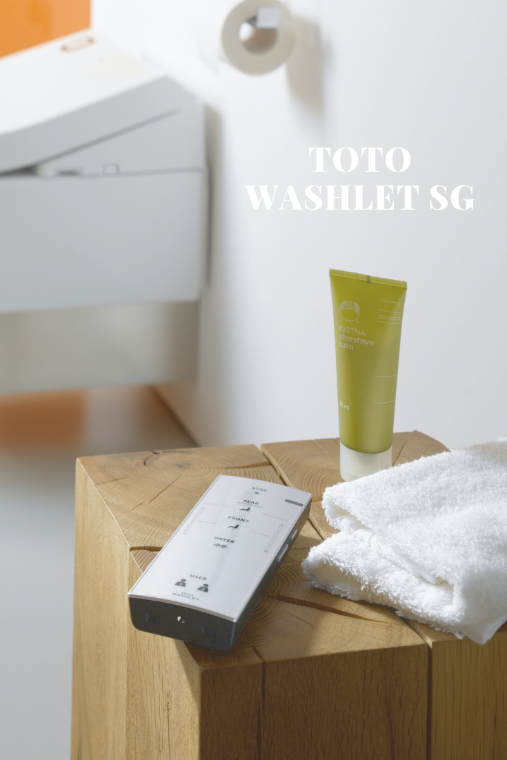 The exclusive range of TOTO bathroom products are