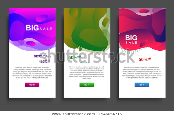 Find Dynamic Modern Fluid Big Sale Banners stock images in HD and millions of ot…