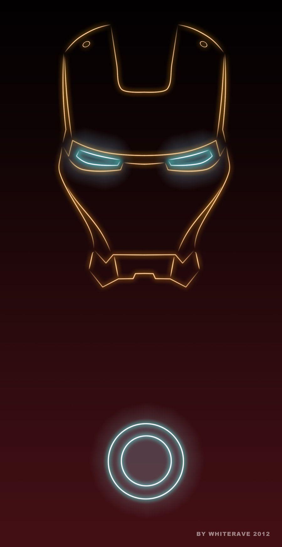 Cute Iron Man Animated Wallpaper