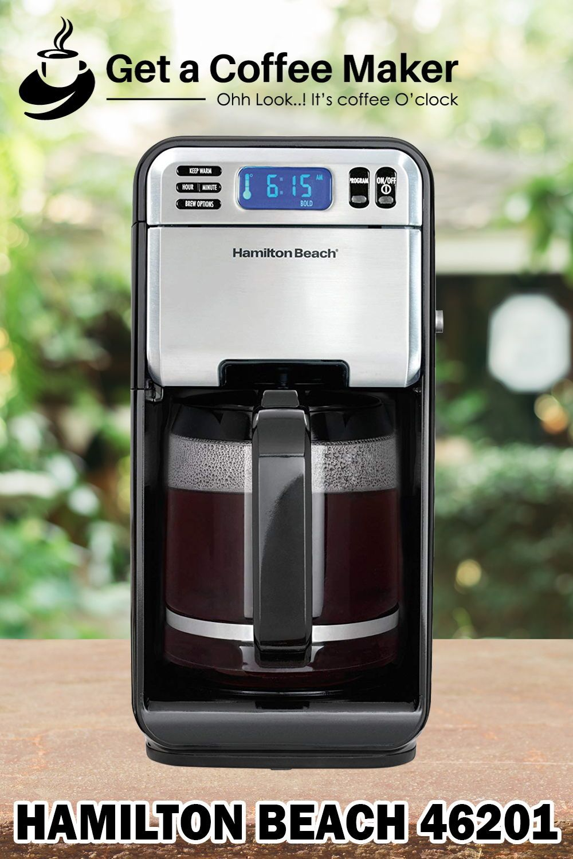 Hamilton Beach Digital Coffee Maker Review, Model 46201