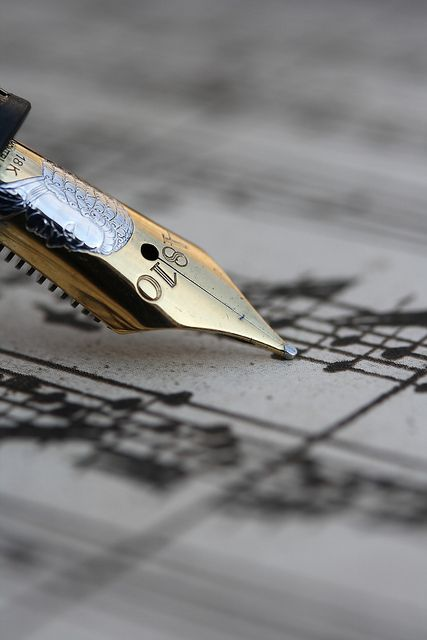 """Yes,"" he said, ""I compose sometimes."""