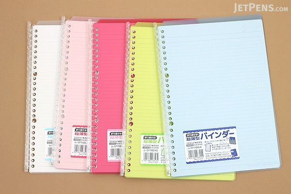 1 PACK Office Product Kokuyo Campus Smart Ring Binder B5-26 Rings Clear