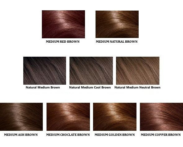 Different Shades Of Medium Brown Hair Color For Men Women