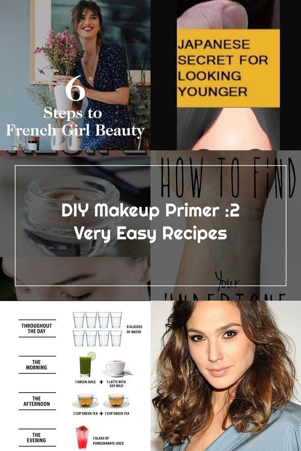diy makeup primer recipe's only for you. stop using those