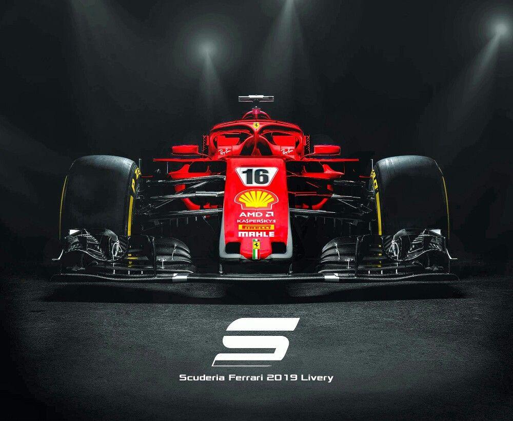 First Look Ferrari 2019 Livery F1 Formula1 Scuderiaferrari
