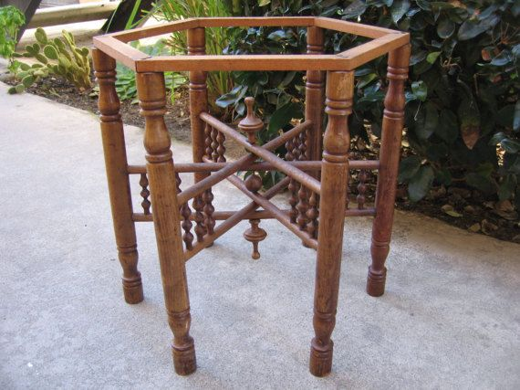 Late 1800 S Victorian Wooden Table Legs Base Architectural