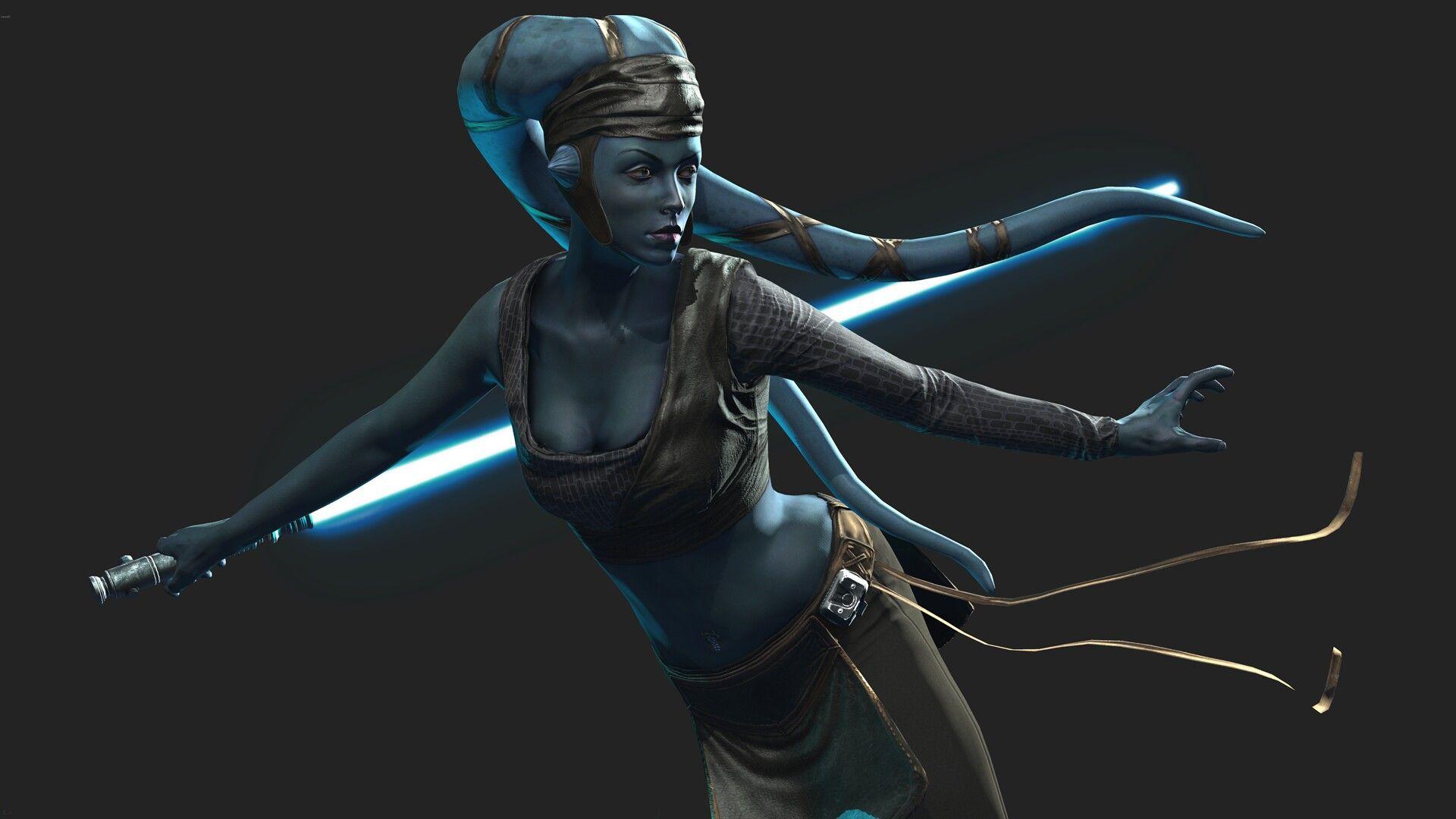Aayla Secura Jedi Knight | Star Wars | Star wars games, Star