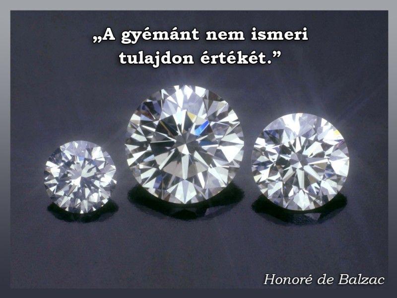 gyémánt idézetek A gyémánt nem ismeri | Diamond, Jewelry, Buy loose diamonds