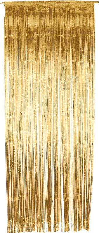 Gold Streamer Curtains Gold Curtains Curtain Fringe Door Curtains
