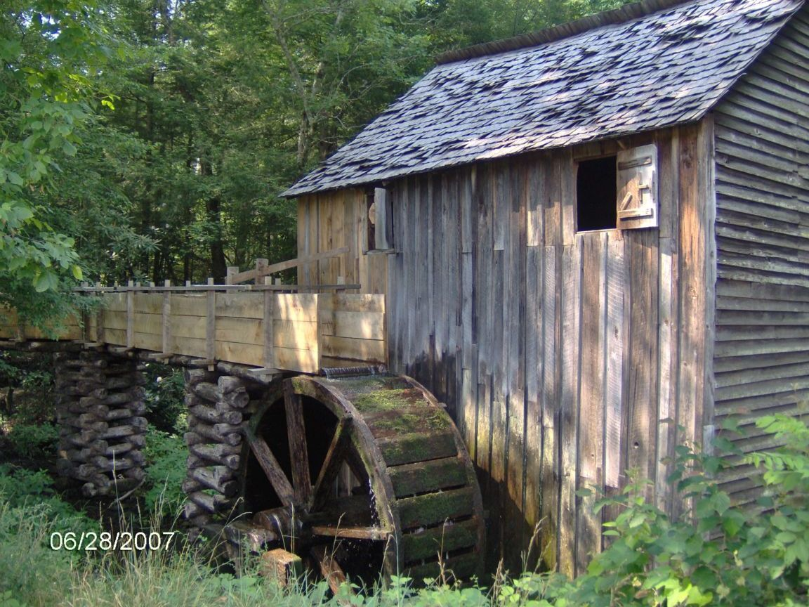mill in cades Cove
