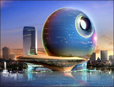 Best Designs of the Year, 2008   Death star, Skyscrapers and ...