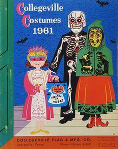 Collegeville Halloween Costumes Catalog 1961 & Art In The Everyday: Vintage Halloween Costumes | Pinterest ...