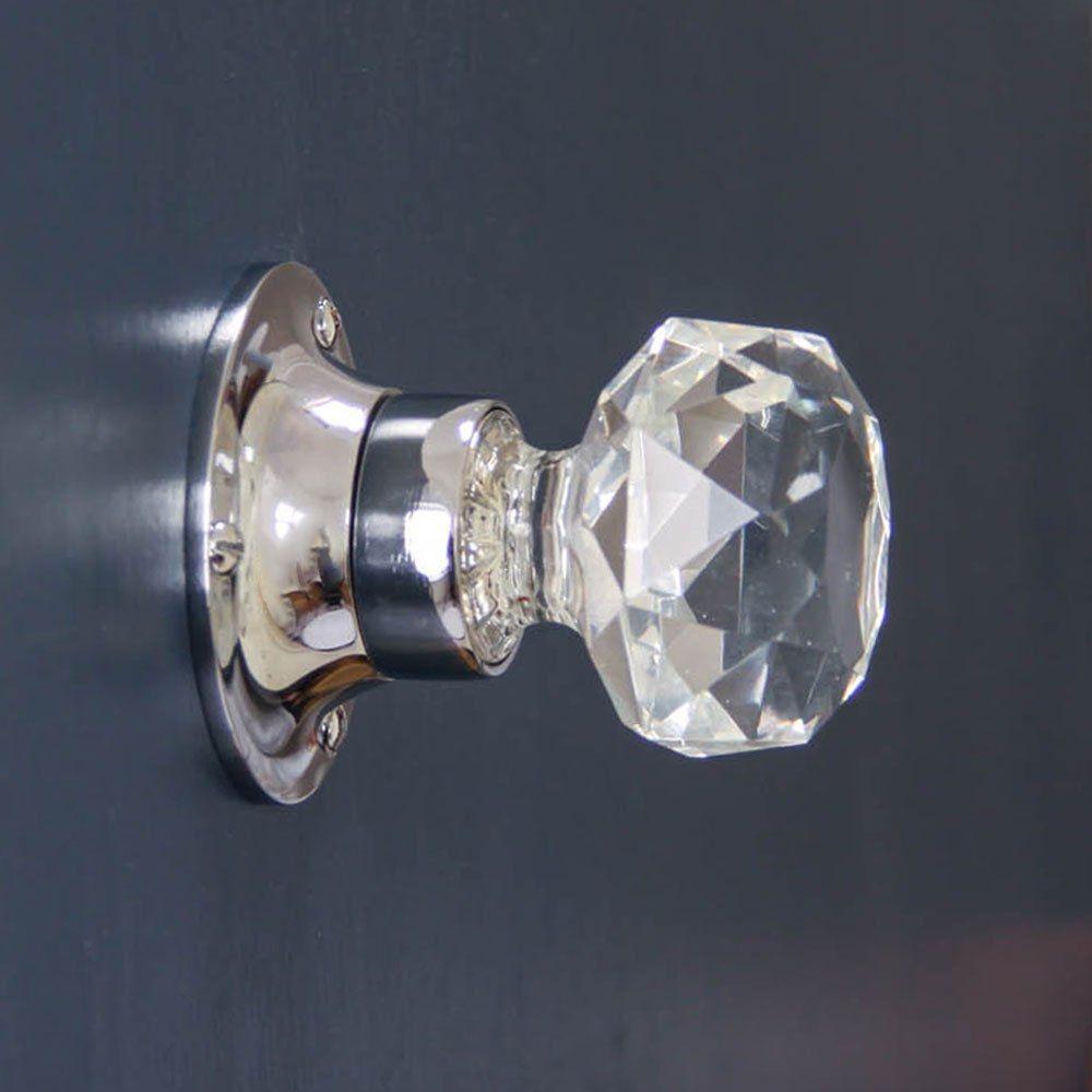 Crystal Cut Glass Door Knobs   http://retrocomputinggeek.com   Pinterest