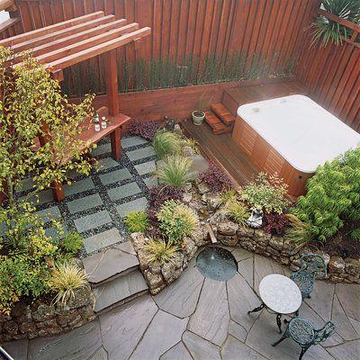 small space garden - Small Patio Design Ideas | For the Home ...