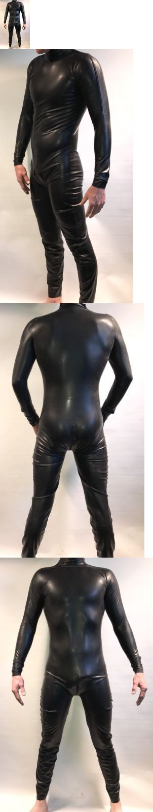 9b2c9ce86f Men 52762  Latex Rubber Catsuit Shoulder Zipper With Crotch Zipper -  BUY  IT NOW ONLY   198 on eBay!