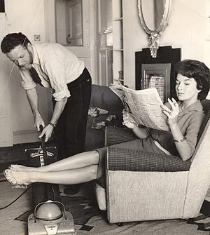 sexy Frauen der 1950er Jahre